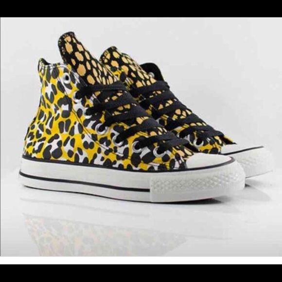 50e18e5b46 Converse Shoes - Converse Chuck Taylor high top leopard print shoes